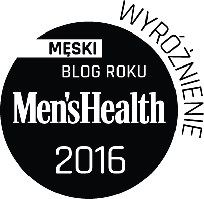 Męski Blog Roku Men's Health 2016