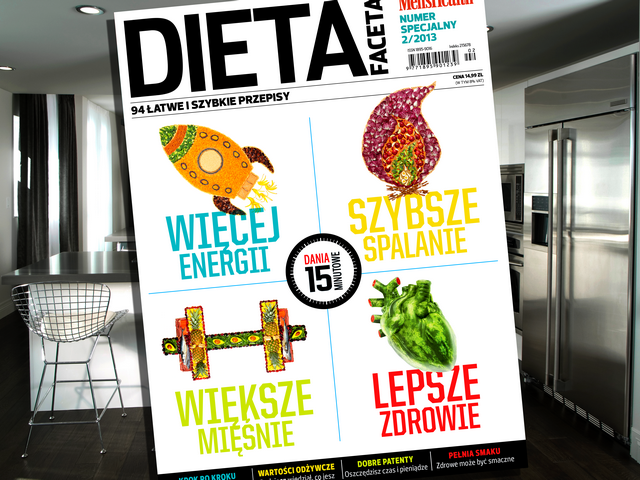 Numer specjalny Men's Health Dieta faceta 2013