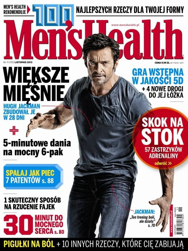 Men's Health listopad 2013