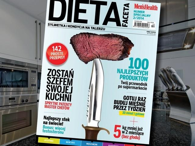 numer specjalny Men's Health Dieta faceta 2014