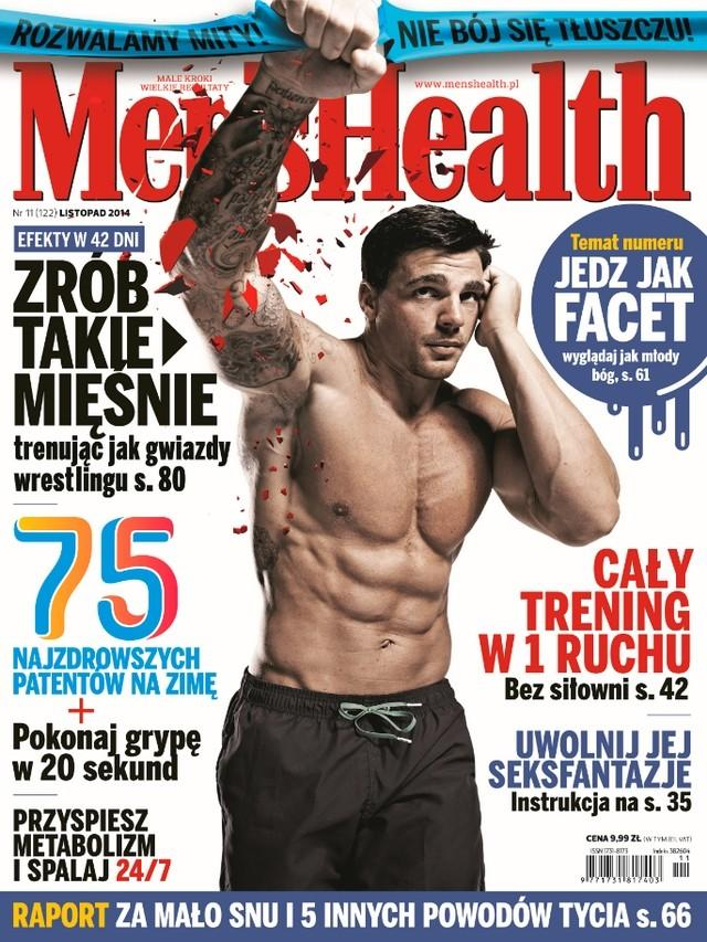 Men's Health listopad 2014