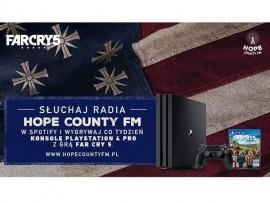 Hope County FM - poznaj świat Far Cry 5 i wygraj PlayStation 4 Pro